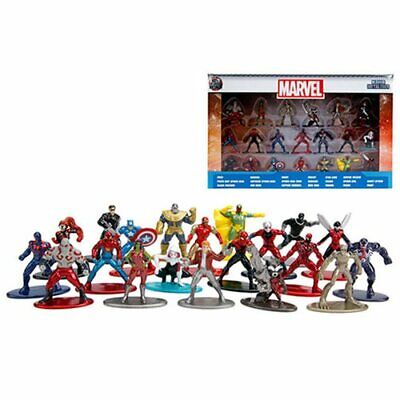 Jada * Marvel 20-Piece Set * Nano Metalfigs Metal Mini Figures 20-Pack 1 2/3""