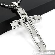 Mens Cross Chain