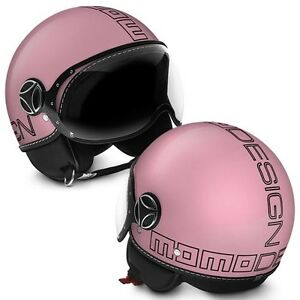 MOMO FGTR Glam Pink Scooter Helmet - Small