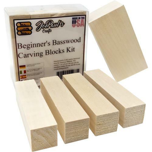 Basswood Premium Carving Blocks Kit