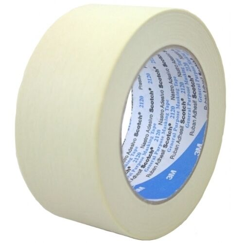 96 ROLLS 3M MASKING TAPE 48mm Wide x 50m Long PAINT PAINTING PICTURE DECORATING