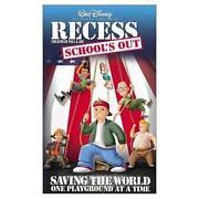 Recess VHS