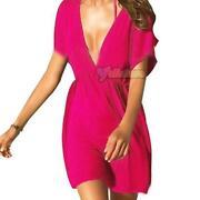 Deep V Dress