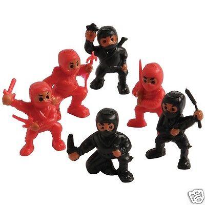 12 Mini Ninja Fighter Action Figures Toy Birthday Party Goody Bag Favor - Ninja Party
