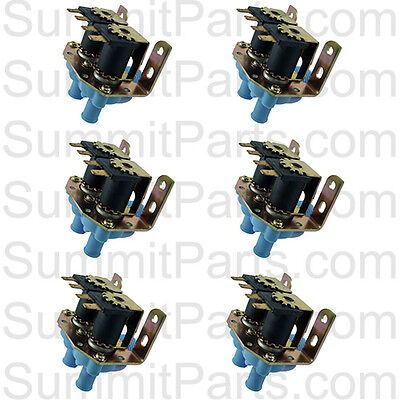 6pk - High Quality Inlet Valve 2-way 110v For Dexter Washers - 9379-183-001