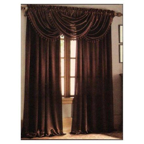 Brown Curtains Ebay