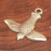 Vintage Sterling Silver Bird Charm
