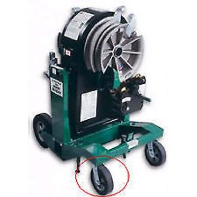 New Front Castor Swivel Wheel For Greenlee 854 855 Pipe Conduit Pipe Benders