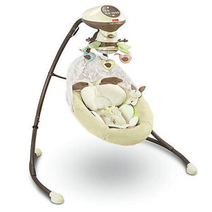 My Little Snugabunny cradle swing. AVAILABLE