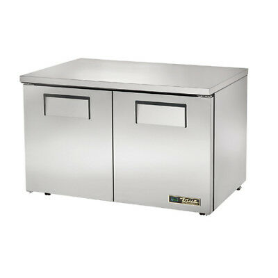 True Tuc-48-lp Undercounter Refrigerator 2 Door 12 Cu. Ft.