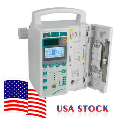 Promotional Iv Fluid Infusion Pump Machine Audible Visual Alarm Equipment Ce