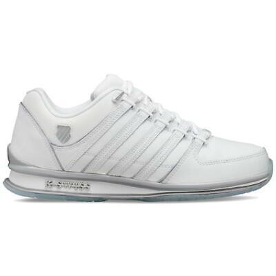 K Swiss Rinzler SP Mens Classic White Ice Lace Up Trainers Shoes Size 7-12