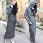Hooded Maxi Dress