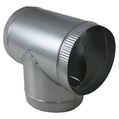 """NEW T Branch 6"""" x 6"""" x 6"""" - Tee Duct Connector Fitting For Fans and Ventilation"""