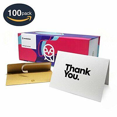 ium Dankeschön Karten mit 100 Selbstdichtend Kraftpapier (100 Danke Karten)
