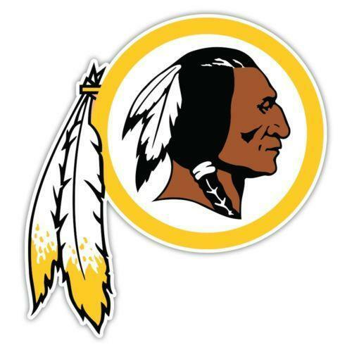 Redskins Stickers Football Nfl Ebay
