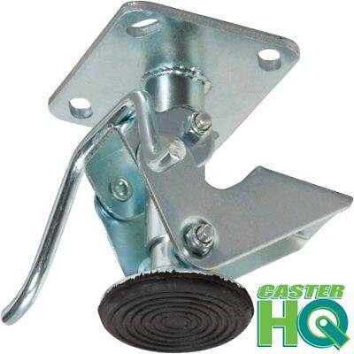Casterhq- 5 Inch Floor Lock - Fl50117 - 4 X 4-12 Top Plate - 6-34 - 5-12