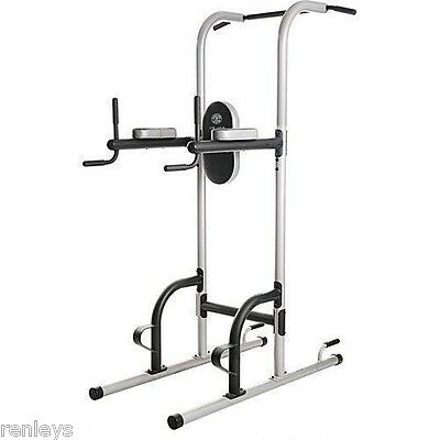 Power Tower Multi-Station Push Pull Up Chin Dip Bar Exercise Home Gym Workout (Multi Station Home Gym)