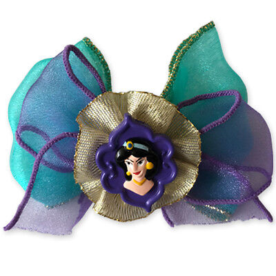 ALADDIN Jasmine DELUXE BOW PIN ~ Birthday Party Supplies Favor Dress Up - Jasmine Birthday Party Supplies