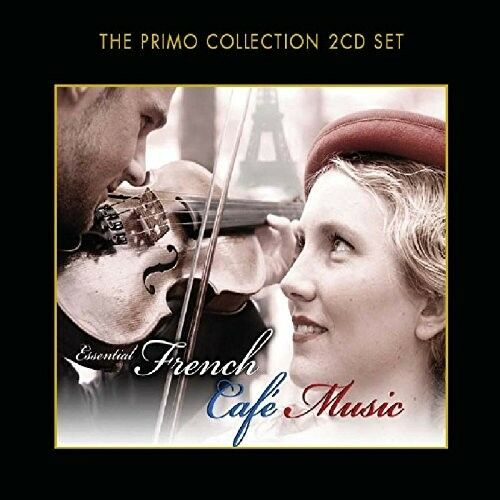 FRENCH CAFE MUSIC - EDITH PIAF, CHARLES TRENET, DJANGO REINHARDT - 2 CD NEU