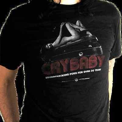 Dunlop Crybaby Wah Wah Pin-Up T-shirt Size Large