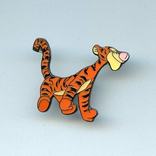 Disney Winnie the Pooh friend Tigger Bouncing on All Fours Propin Germany Pin