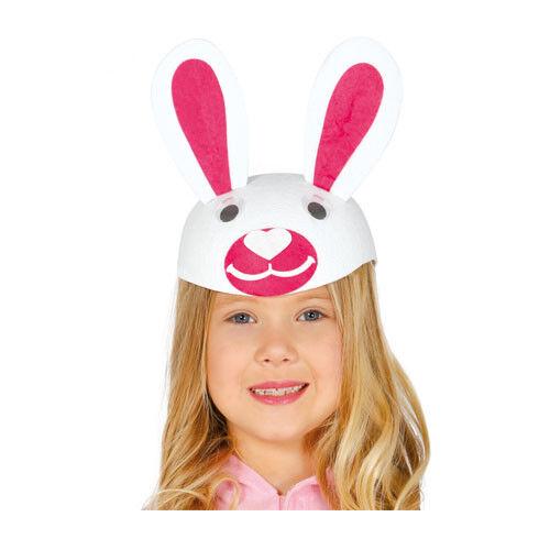 cappello coniglietto coniglietta bambina copricapo carnevale animali coniglio