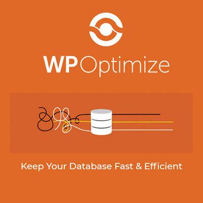 Wp-optimize Premium Make Your Site Fast And Efficient Wordpress Plugin