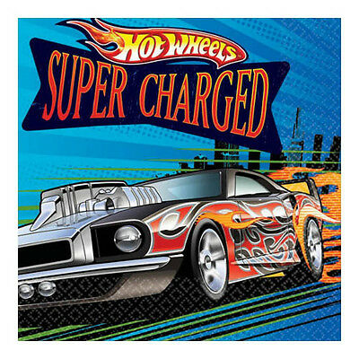 HOT WHEELS Speed City SMALL NAPKINS (16) ~ Birthday Party Supplies Serviettes](Party City Hot Wheels)