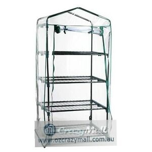 1.6M 4 Shelves Greenhouse Small Garden Shed Sydney City Inner Sydney Preview