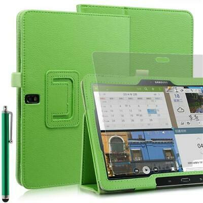 Plegable Funda Tablet para Samsung Galaxy Note pro T520 Verde 10,1