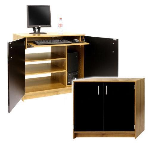 Hideaway Computer Cabinet EBay