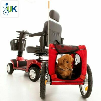 Mobility Scooter Pet Towing Trailer Attachment Shopping Cargo Transport Solution