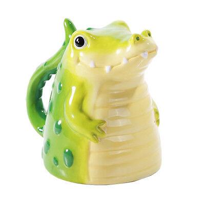 NEW! Topsy Turvy Coffee Mug Upside Down Alligator Tea Home Office Decor 11572](Alligator Decorations)