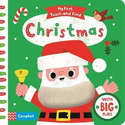 Navidad (My First Touch Y Encuentra) Por Libros Campbell Nuevo Libro,Libre