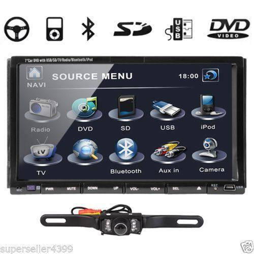 Kenwood double din backup camera