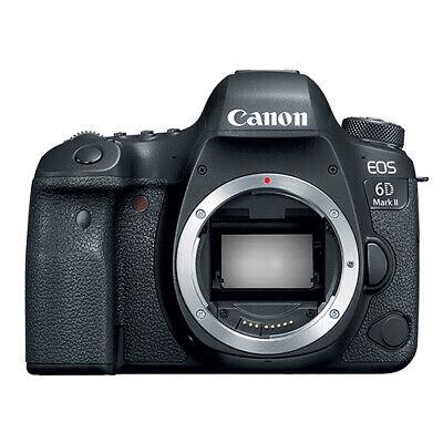 Canon EOS 6D Mark II Digital SLR Camera Body 26.2 MP