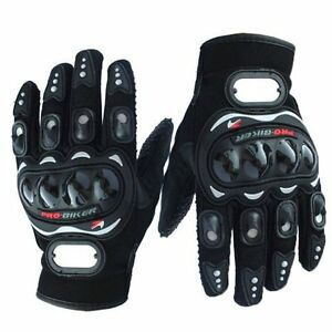 Motorcycle Gloves with protection + touch screen finger NEW