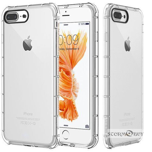 For Iphone  6 / 6S / 7 Plus / 8 Plus / SE Case Clear Bumper