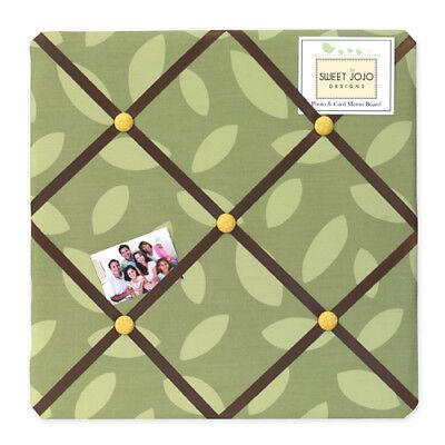Message Photo Memo Memory Bulletin Board for Sweet Jojo Jungle Time Bedding Sets (Jungle Bulletin Board)