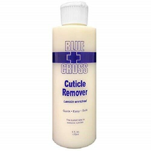 Blue Cross Cuticle Remover Lanolin Enriched 6 oz