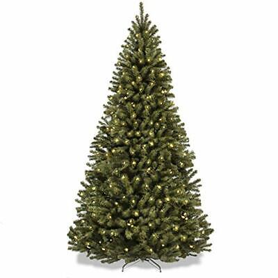 Christmas tree Best Choice Products 7.5Ft Pre-Lit Spruce Hinged