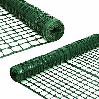 Single Temporary Fencing Mesh Snow Fence Plastic Safety Garden Netting 4 x 100