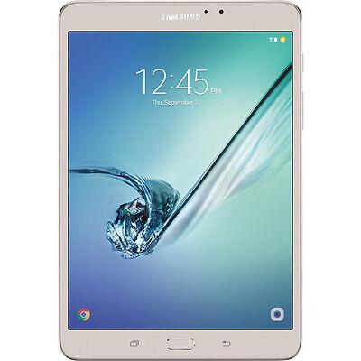 "Samsung Galaxy Tab S2 8""; 32 GB Wifi Tablet (Gold) SM-T713NZDEXAR Brand NEW"