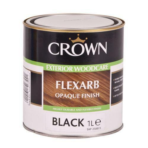 Black exterior wood paint ebay - Exterior wood paint matt pict ...