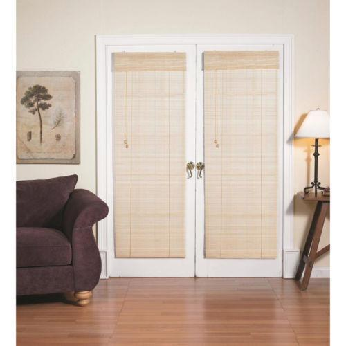 french door shades ebay. Black Bedroom Furniture Sets. Home Design Ideas