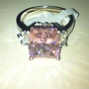Princess Cut CZ Ring