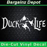 Vinyl Decal ... DUCK LIFE ... Car Truck Laptop Hunting Sticker Vinyl Decal