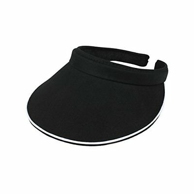 (MG Women's Cotton Twill Clip On Visor)
