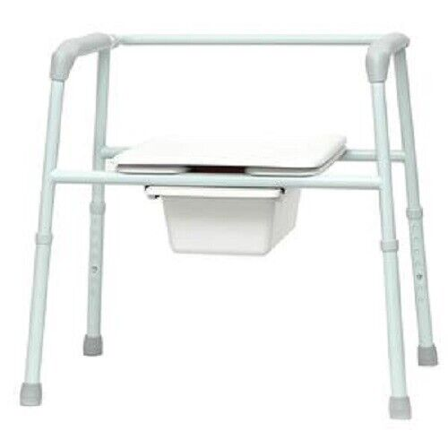PMI ProBasics® Bariatric Three-In-One Patient Commode 450 lb Capacity Gray